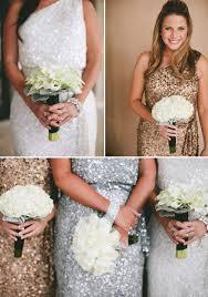 and white bridesmaid dresses glamorous black white and gold wedding with sequin bridesmaid dresses