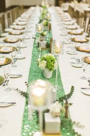 mint green wedding mint green wedding table runner table runners