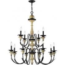 Country Chandelier Primitive Decor Rustic Decoration Accents Wall Art Chandeliers