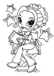 coloring pages for girls 6 coloring page