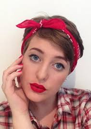 how to wear a bandana with short hair 20 best of short hairstyles with bandanas