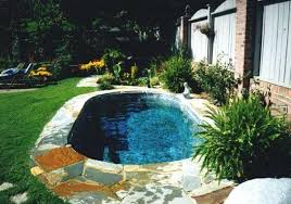 heavenly small backyard with pool new at kitchen interior home