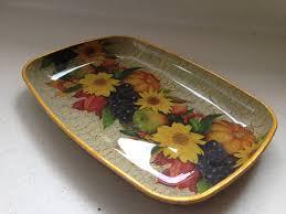 decoupage glass plate fruit u0027s tale gift idea