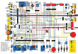 motorcycle wiring diagrams prepossessing xr600 diagram floralfrocks