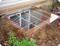 egress window coverings yard porch deck pinterest egress