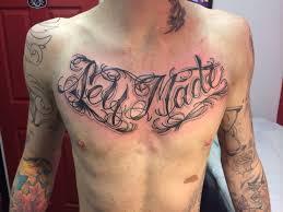 self made chest script by gav ruby ink