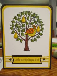 stampin up partridge in a pear tree beauty and the stamper