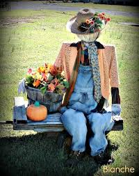 Homemade Scarecrow Decoration 280 Best Scarecrows Garden Ladies And Men Images On Pinterest