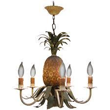 Pineapple Light Fixture Italian Hanging Five Light Fixture With Pineapple Design 19