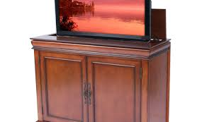 cabinet amazing tv lift cabinet for living room alarming tv lift