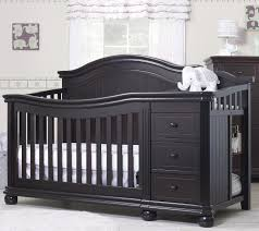 Black 4 In 1 Convertible Crib Sorelle Vista Elite 4 In 1 Convertible Crib And Changer Espresso