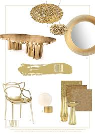 gold and brass interior design home decorating inspiration