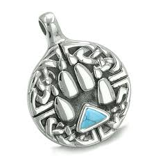 celtic knots and talismans amulet celtic shield knot and wolf