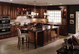 kitchen paint colors with cherry cabinets yellow kitchen painting