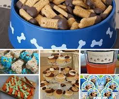 puppy dog party food puppy party birthday party