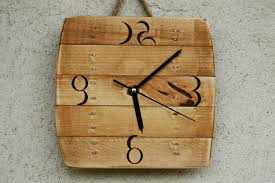 Art Wall Clock by Wood Art Wall Clock Wallartideas Info
