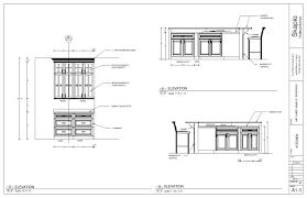 sample kitchen elevations shop drawings pinterest kitchens