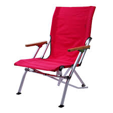 Outdoor Furniture Folding Chairs by Pink Wooden Arm Folding Chair Camping Picnic Bbq Fishing Outdoor