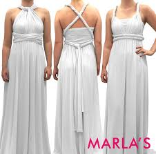 light grey infinity dress long infinity dress convertible dress marlasfashions marla s