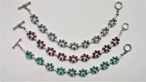 making bead necklace images Easy beading pattern for beginners 2 beaded bracelets 1 beaded jpg