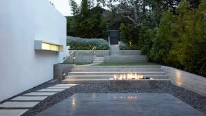 cuisine exterieure beton escalier beton exterieur intérieur intérieur minimaliste