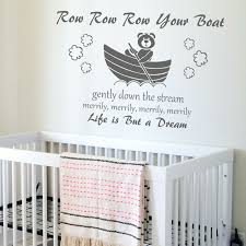 nursery rhyme quote wall sticker home transfer kids decal decor nursery rhyme quote wall sticker home transfer kids decal decor stencils art uk