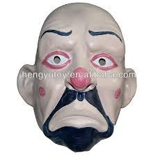 masquerade cosplay props halloween scary latex clown masks make