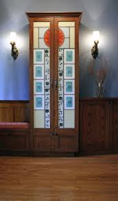 Entryway Armoire by Art Zone Glass