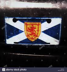 Picture Of Nova Scotia Flag The Flag Of Nova Scotia Is Made Up Of The Scottish Saltire St