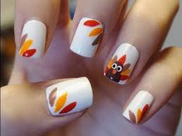 nail for thanksgiving easy thanksgiving turkey nails