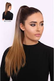 ponytail hair ombre luxe 20 ponytail hair extension lullabellz