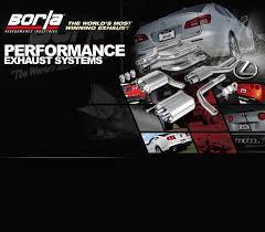 lexus performance parts borla performance exhaust for lexus is f
