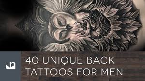 wing back tattoos for guys 40 unique back tattoos for men youtube