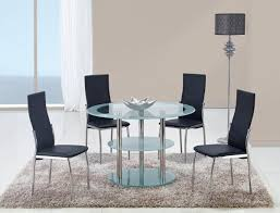 Bar Set For Home by Global Furniture Usa 79 Dining Set Frosted Glass Stainless