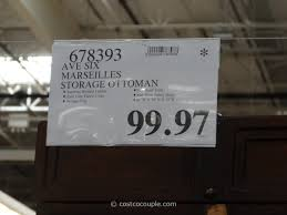 ave six marseilles storage ottoman