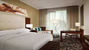 King Size Bed Hotel Day Use Room Sheraton Moscow Sheremetyevo Airport Hotel