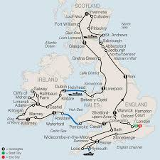 Oxford England Map by British Isles Tour Globus Vacations