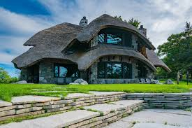 unique house mushroom houses of charlevoix all hobbits welcom
