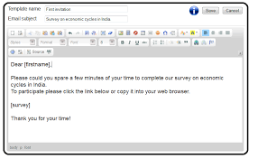 100 free survey software email templates