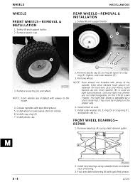 wheels wheels front wheels u2014removal u0026 installation rear wheels