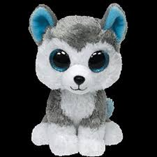 buy ty beanie boo plush stuffed animal slush husky dog
