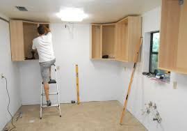 kitchen cabinet installer monsterlune assembling ikea kitchen cabinets best installation