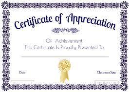 appreciation certificate template imts2010 info
