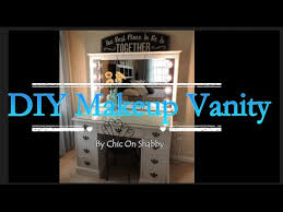 How To Make A Makeup Vanity Mirror Diy Makeup Vanity Lights How To Cut A Mirror Youtube