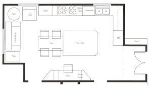 gallery of design a kitchen layout at kitchen floor plan design