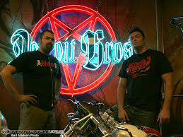 custom builder detroit bros motorcycle usa