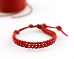 red bead bracelet images Red bead bracelet etsy jpg