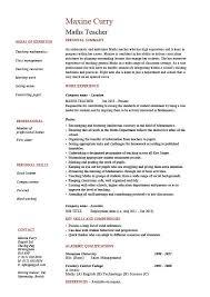 first class math teacher resume 15 math tutor resume sample
