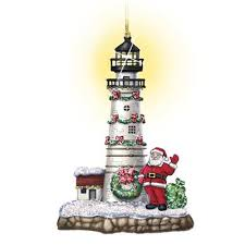 shining lighthouse ornaments the danbury mint