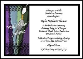 middle graduation party invitations kawaiitheo com